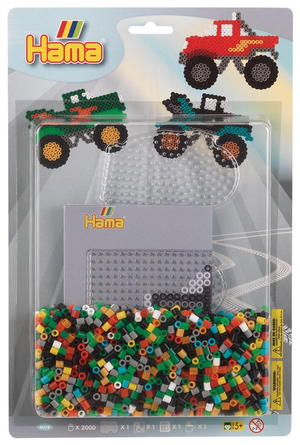 Набор для термомозаики грузовик (прозрачный), 2000 бусин,