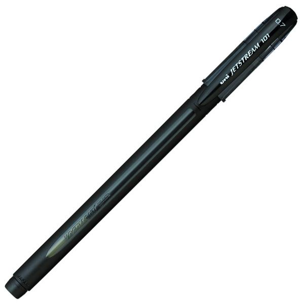 Ручка шариковая UNI Jetstream SX-101 (0,7). Линия письма: 0,35 мм. Цвет чернил: черный.