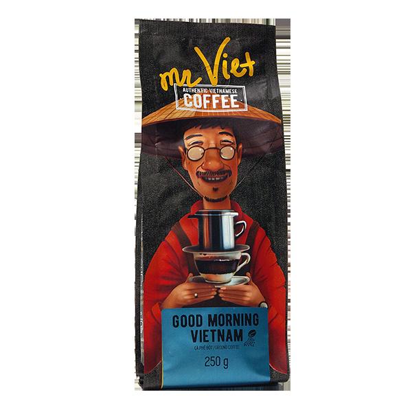 Кофе вьетнамский молотый Мистер Вьет - доброе утро, Вьетнам 250 г