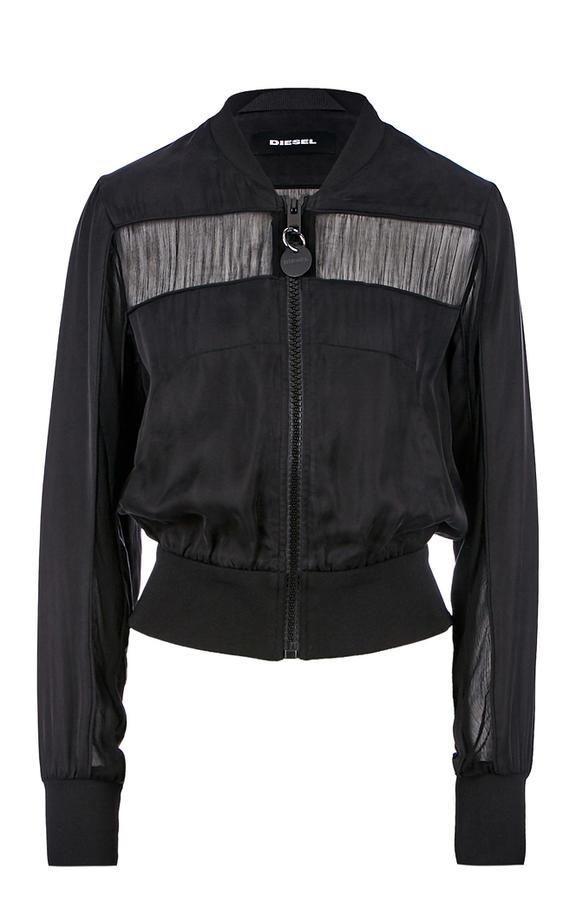 Куртка женская DIESEL черная 42