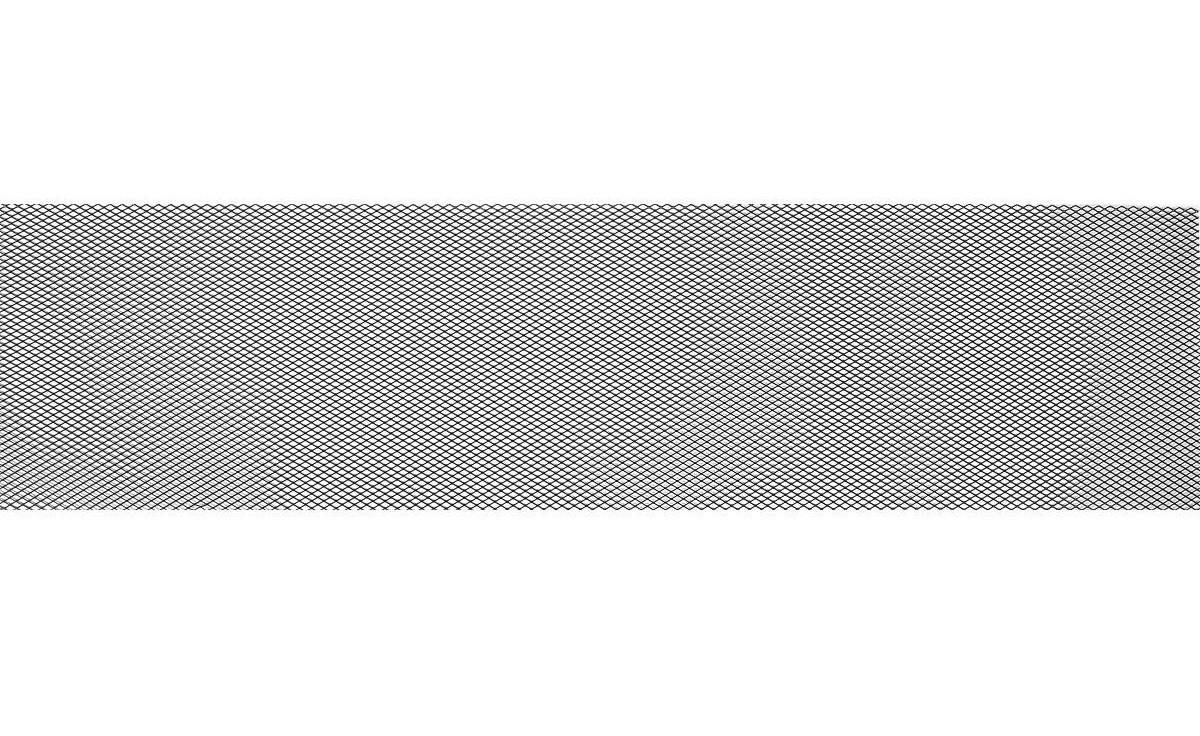 Сетка Защитная Радиатора 1000х250 R10 Alu Чёрная