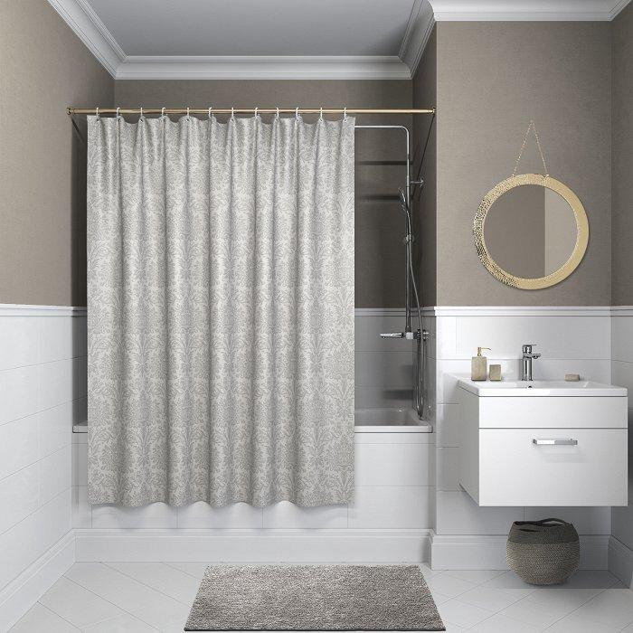 Штора для ванной комнаты IDDIS Décor D01P118i11
