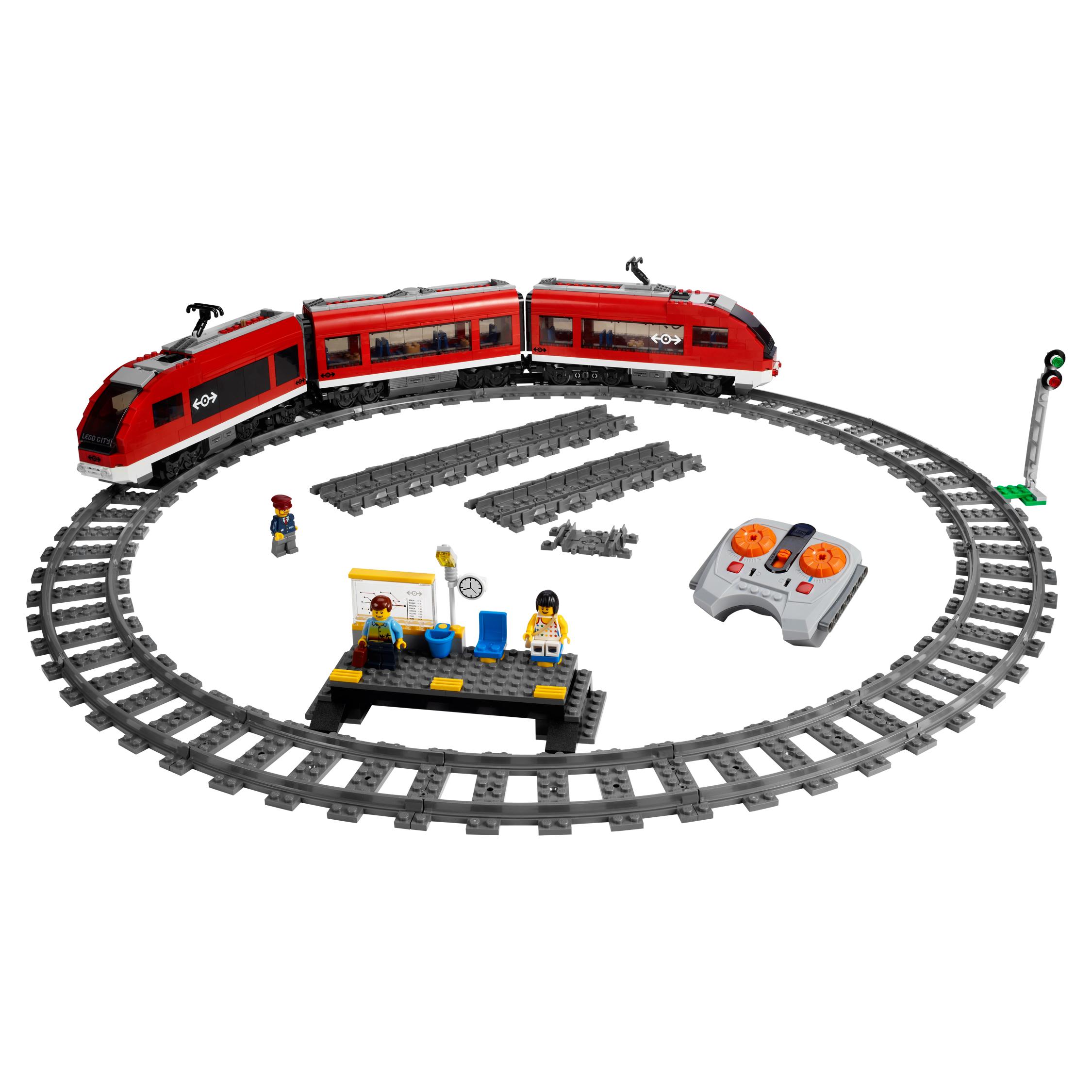 Купить Конструктор lego city trains пассажирский поезд 7938, Конструктор LEGO City Trains Пассажирский поезд (7938)
