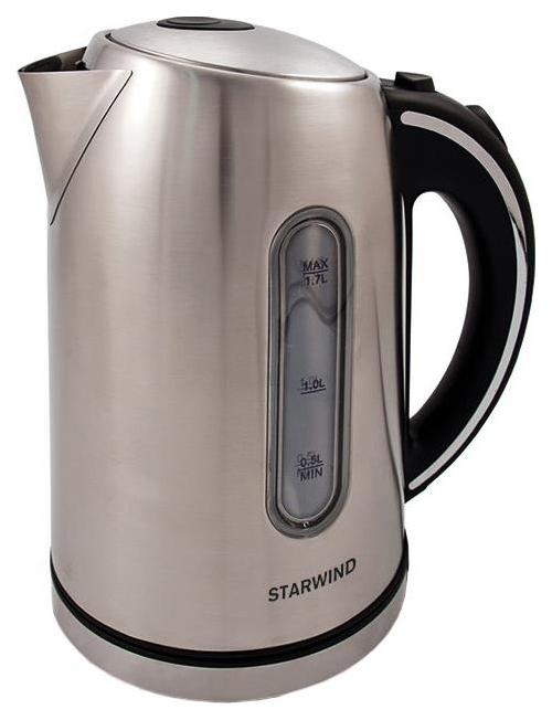 Чайник электрический StarWind SKS4210 Black/Silver