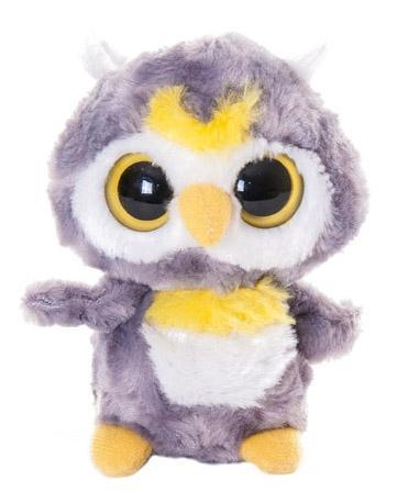 Мягкая игрушка Aurora Юху и его друзья 65-109 Сова, 12 см