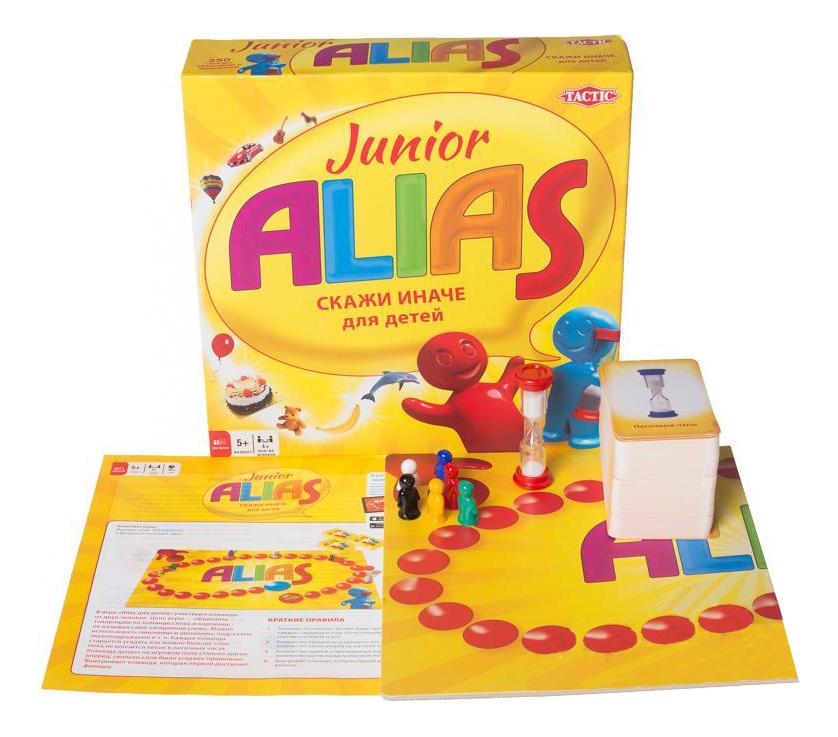 TACTIC GAMES ALIAS JUNIOR 2