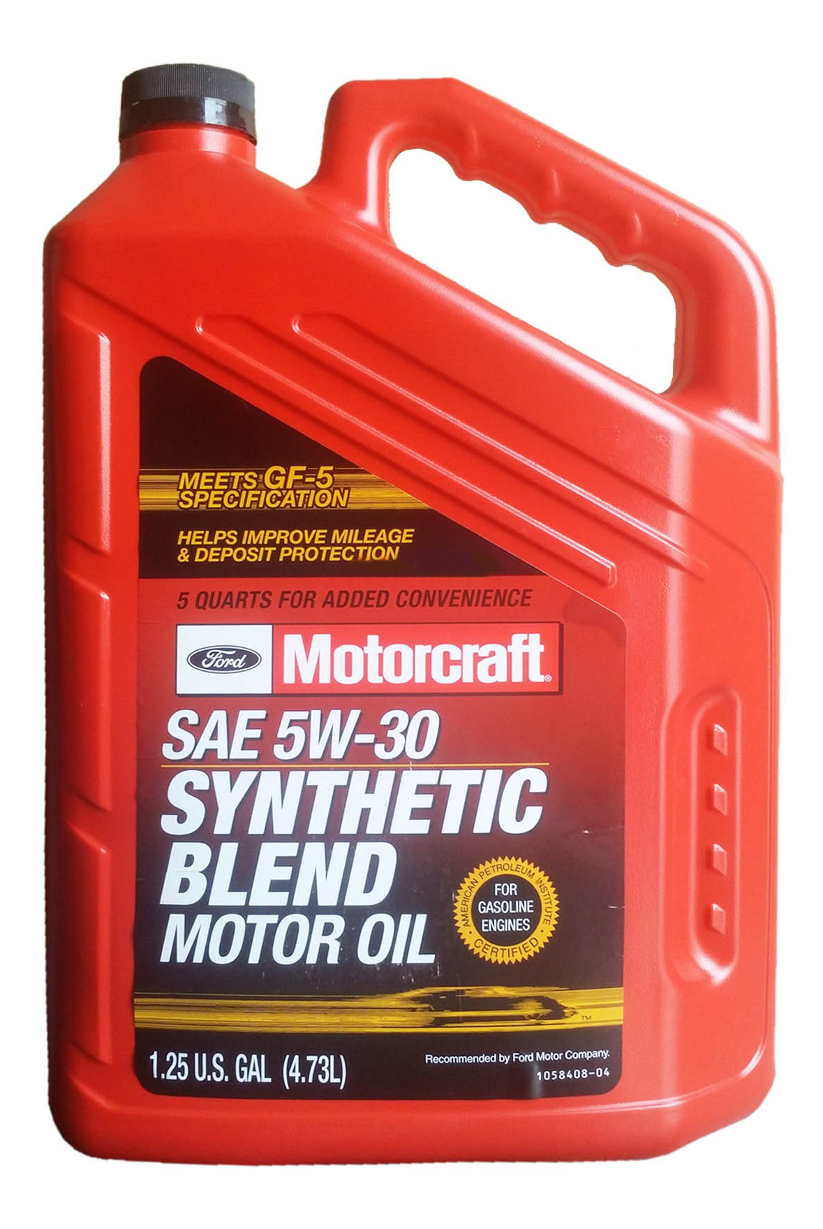 Моторное масло Motorcraft Premium Synthetic Blend 5W-30 4,73л
