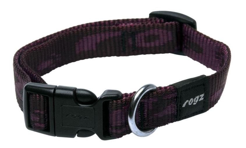 Ошейник ROGZ Alpinist HB23E M, 16 мм, фиолетовый
