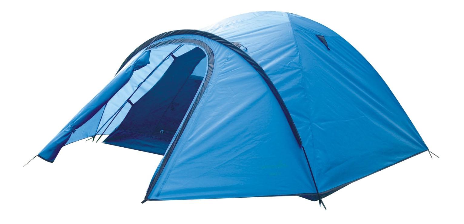 Палатка Green Glade Nida (Nevada) трехместная голубая