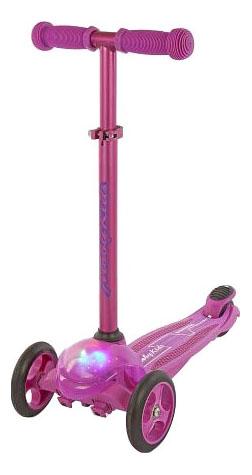 Самокат трехколесный пурпурный MOBY KIDS 64962