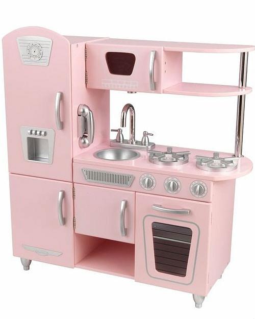 Кухня KidKraft Винтаж розовая