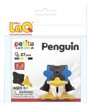 Конструктор пластиковый LaQ Penguin.