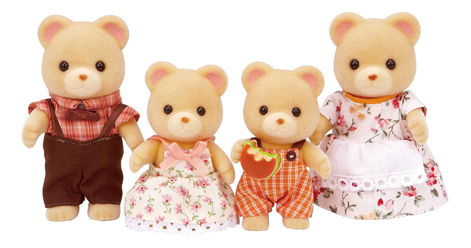 Игровой набор EPOCH Sylvanian Families Семья медведей