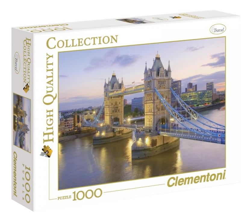 Пазл Clementoni Лондон Тауэрский Мост 1000 деталей фото