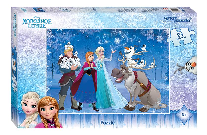 Пазл Step Puzzle Disney Холодное Сердце 24 элемента фото