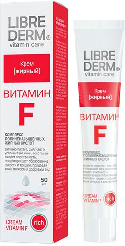 Жирный крем LIBREDERM Витамин F, 50 мл