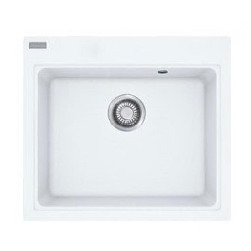 Мойка для кухни гранитная Franke MRG 610-58 1140060685 белый