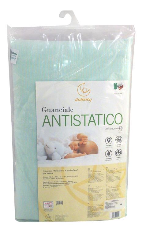 Подушка детская Italbaby Antistatico 38х55 белый