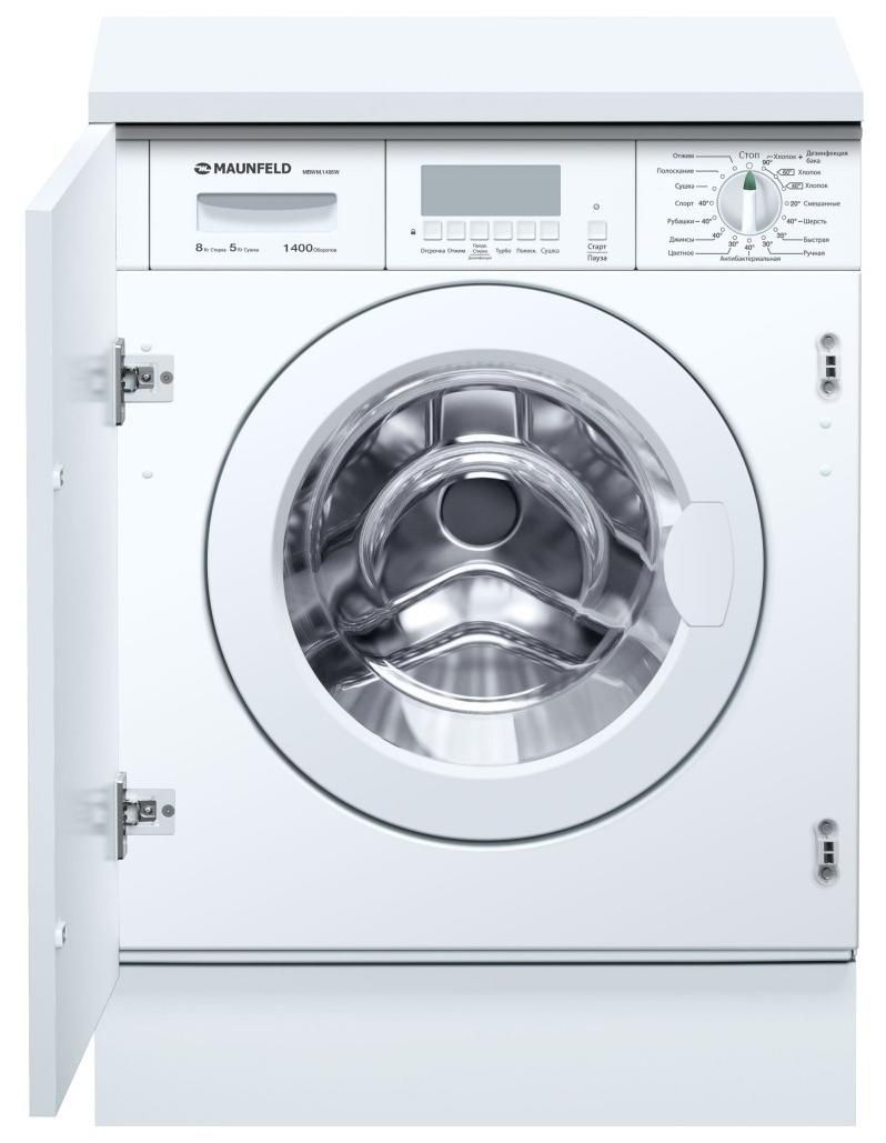 Встраиваемая стиральная машина сушкой MAUNFELD MBWM.1485W