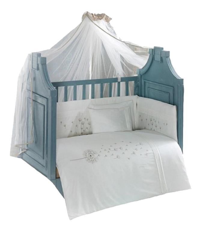 Купить Комплект детского постельного белья Kidboo Blossom Saten Vanilla 6 предметов,