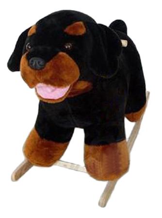 Купить Собака-ротвейлер, Качалка детская Тутси Собака-Ротвейлер, Качалки детские