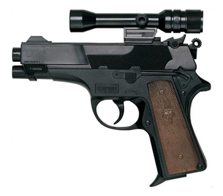 Купить Пистолет игрушечный Leopardmatic, 17, 5 см, Edison Giocattoli, Игрушечные пистолеты