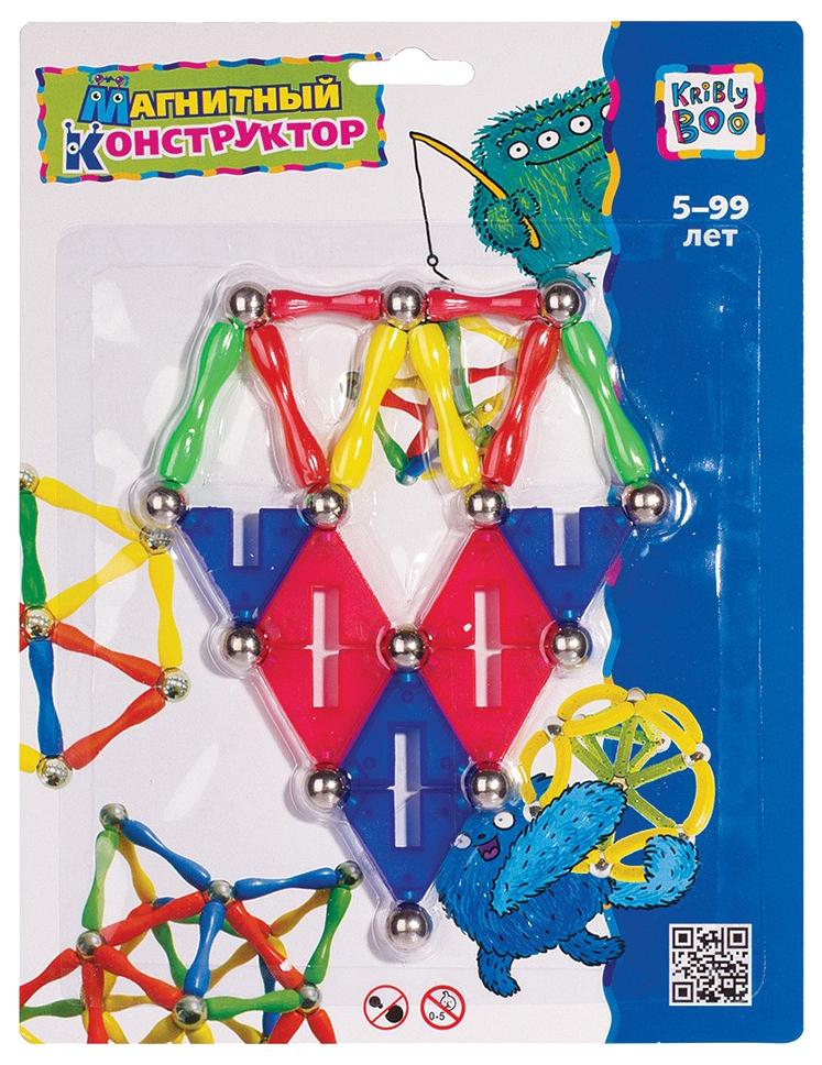Купить Конструктор магнитный Kribly BooПирамида, Треугольники-1, Звезда 37, Магнитные конструкторы
