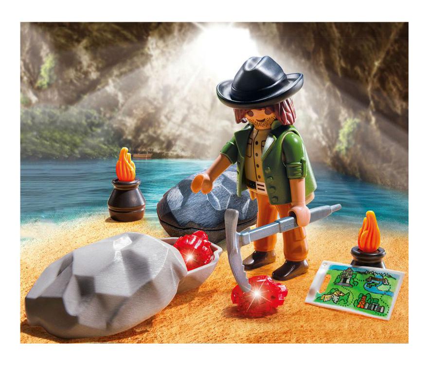 Купить Экстра-набор: Охотник за драгоценными камнями, Игровой набор PLAYMOBIL Экстра-набор: Охотник за драгоценными камнями, Игровые наборы