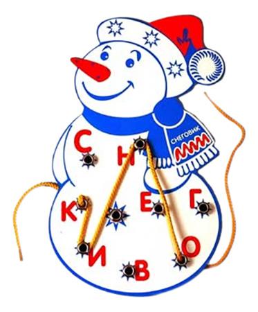 Купить Снеговик, Развивающая игрушка Развивающие игры Воскобовича Снеговик, Развивающие игрушки