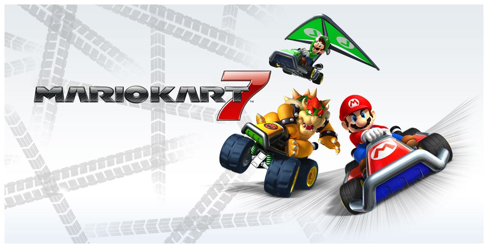 Игра Mario Kart 7 для Nintendo 3DS