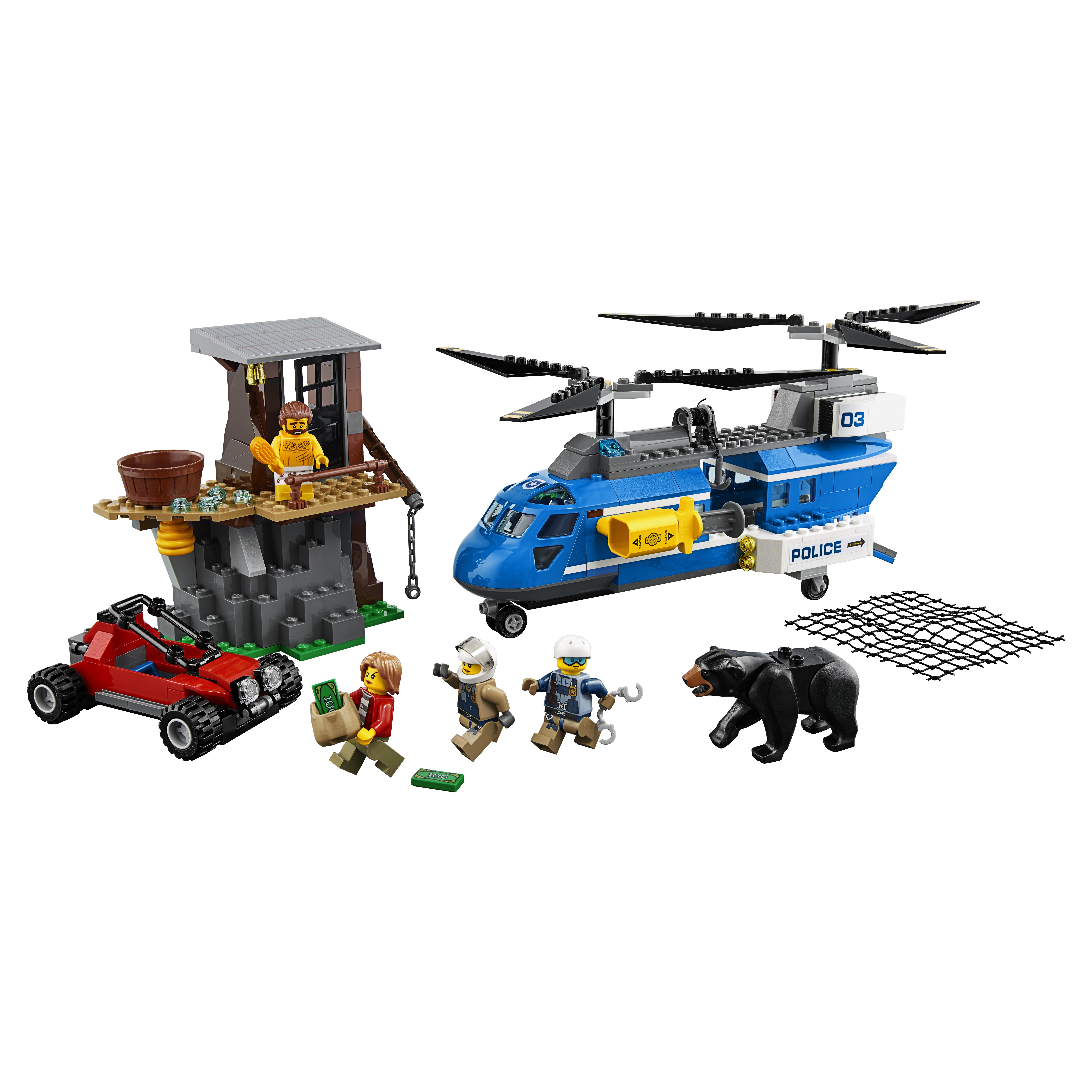 Купить Конструктор lego city police погоня в горах (60173), Конструктор LEGO City Police Погоня в горах (60173)