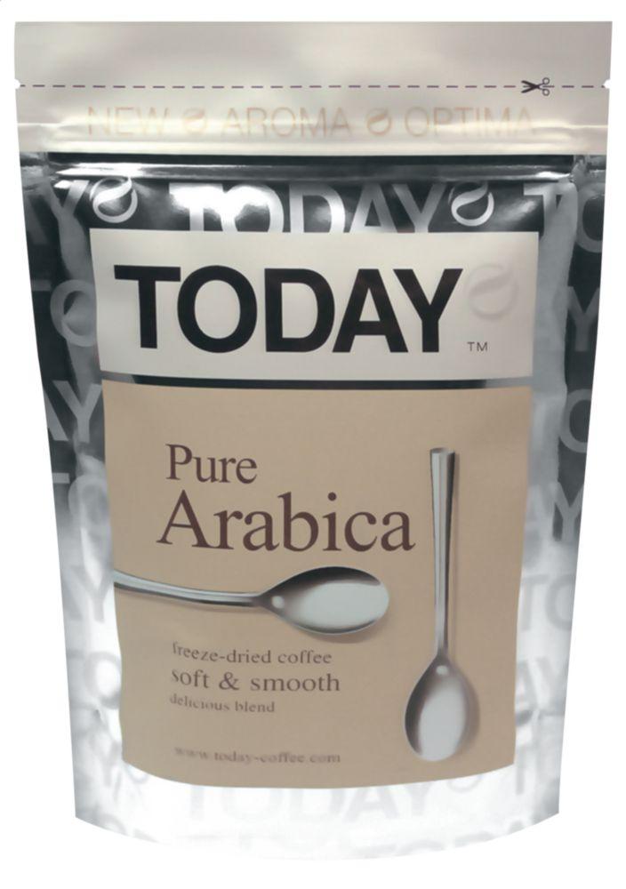 Кофе растворимый Today pure arabica 150 г фото