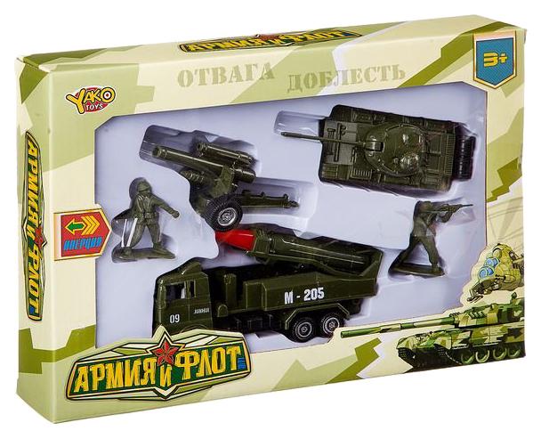 Игровой набор Yako M7099 армия и флот 8 предметов
