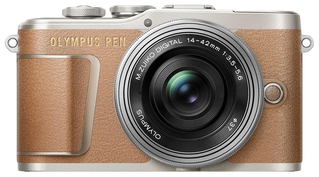 Фотоаппарат системный Olympus E-PL9 Pancake Zoom 14-42mm EZ Brown.