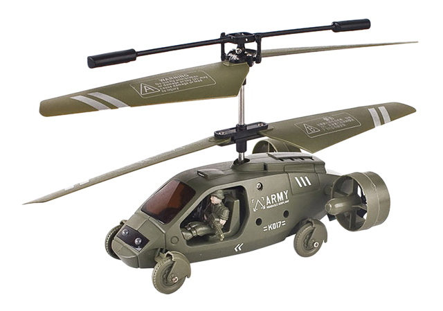 Военный вертолет р/у К 017 на аккум.