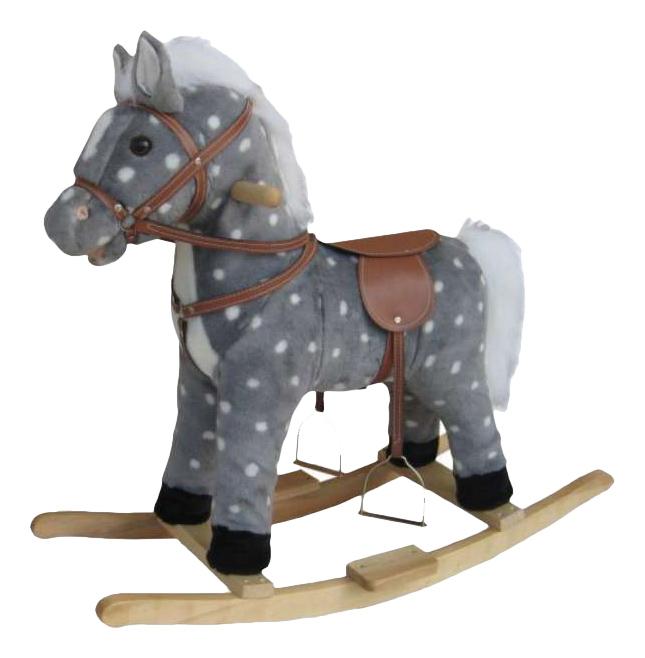 Купить Качалка Лошадь в яблоках Shantou Gepai 611036, Качалки детские