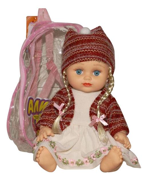 Кукла Play Smart в бордовой кофточке Д12911