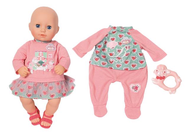Купить My first Baby Annabell 700-518 Бэби Аннабель Кукла с доп, набором одежды, 36 см, Кукла с доп. набором одежды 36 см Zapf Creation My First Baby Annabell 700-518,