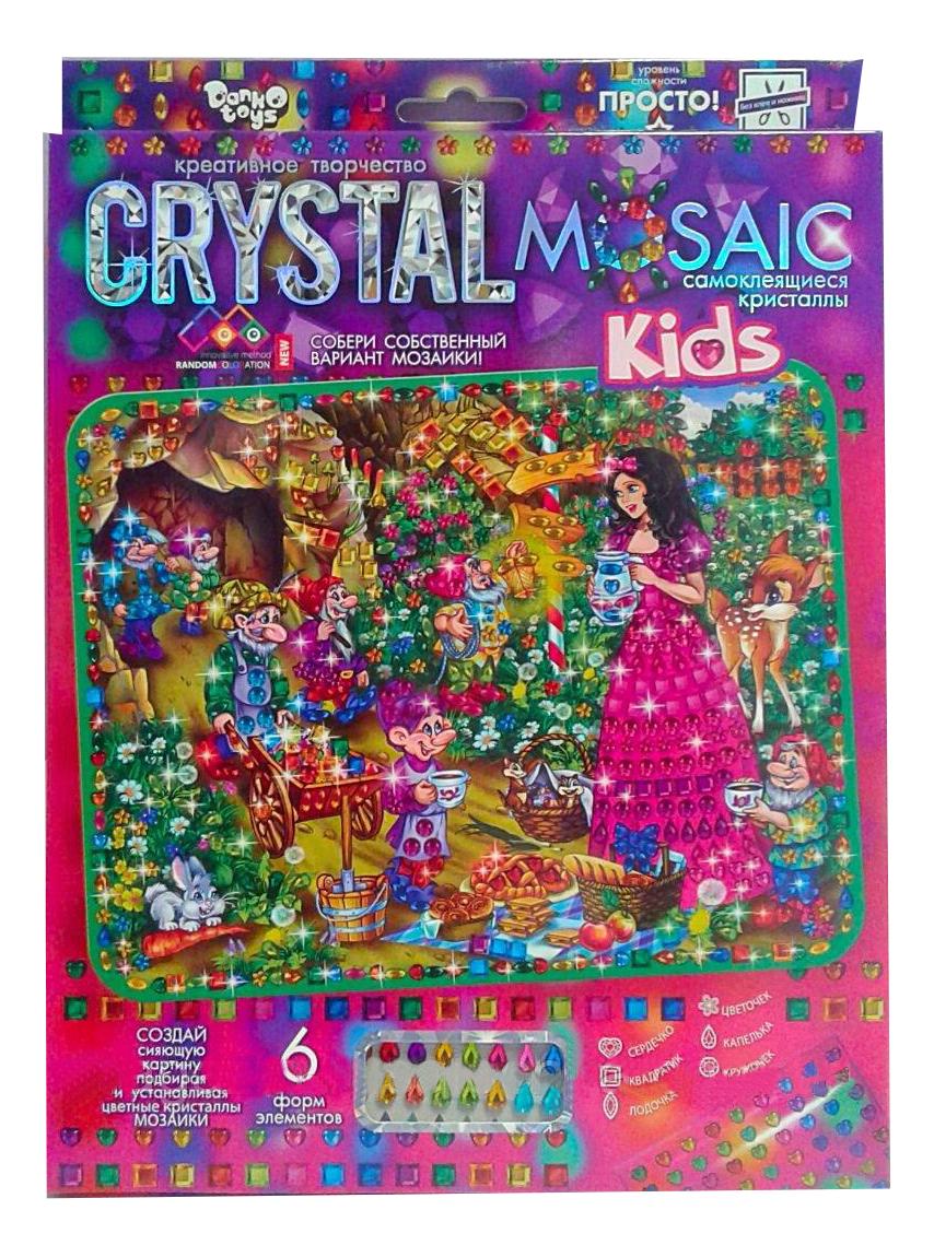 Купить Мозаика из пайеток Danko Toys Crystal Mosaic Белоснежка, Мозаики