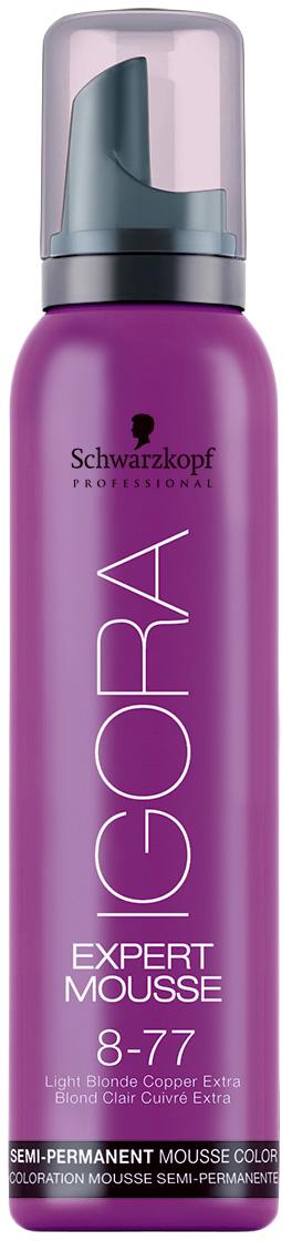 Купить Мусс для волос Schwarzkopf Professional Тонирующий мусс 8-77