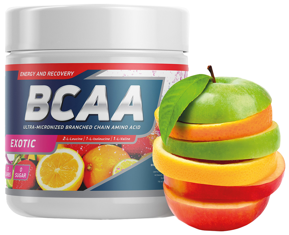 GeneticLab Nutrition BCAA 250 г фруктовый пунш