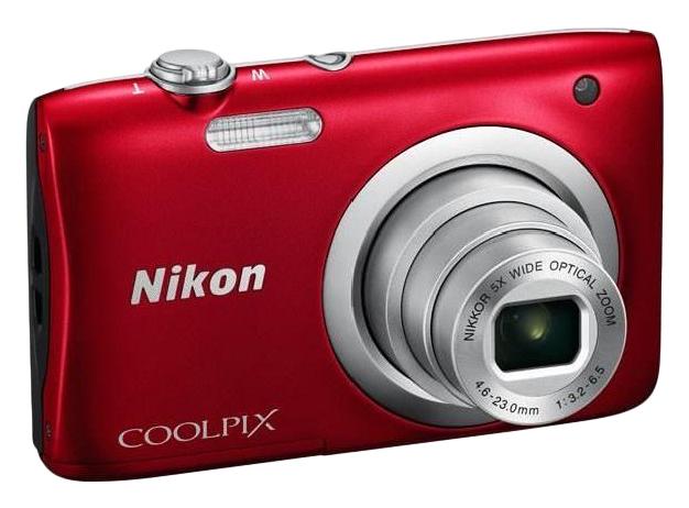 Фотоаппарат цифровой компактный Nikon A100 Red