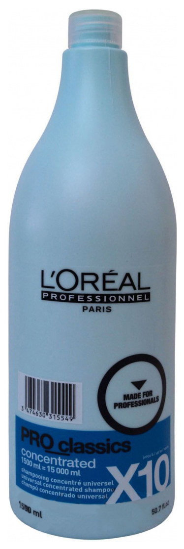 Шампунь L'Oreal Professionnel Pro Classics Concentrated Shampoo 1500 мл фото