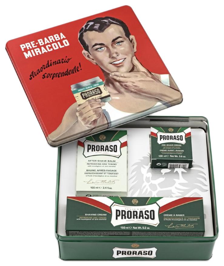 Купить Набор для бритья Proraso Vintage Selection Gino 350 мл