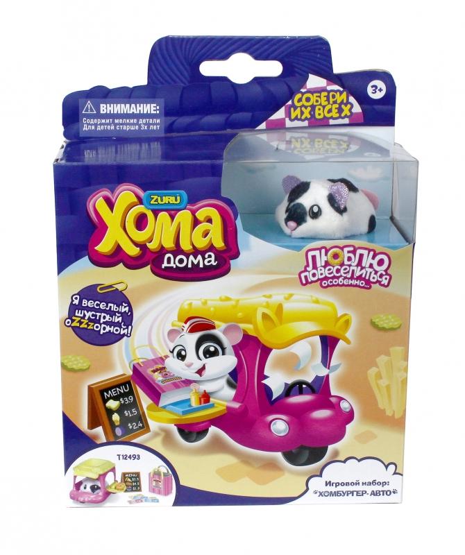 Интерактивная игрушка 1 TOY Хома Дома Хомбургер-авто Т12493