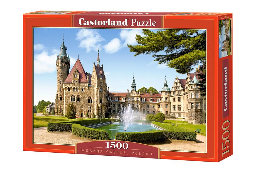 Пазл Castorland 1500 деталей Замок Польша, средний размер элементов 1, 6?1, 4 см, Пазлы  - купить со скидкой
