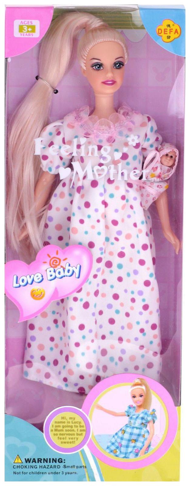 Купить Кукла Defa Lucy 6001Беременная кукла lucy с ребенком, Классические куклы