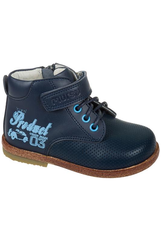 Ботинки детские MURSU, цв.синий, р-р 19 фото