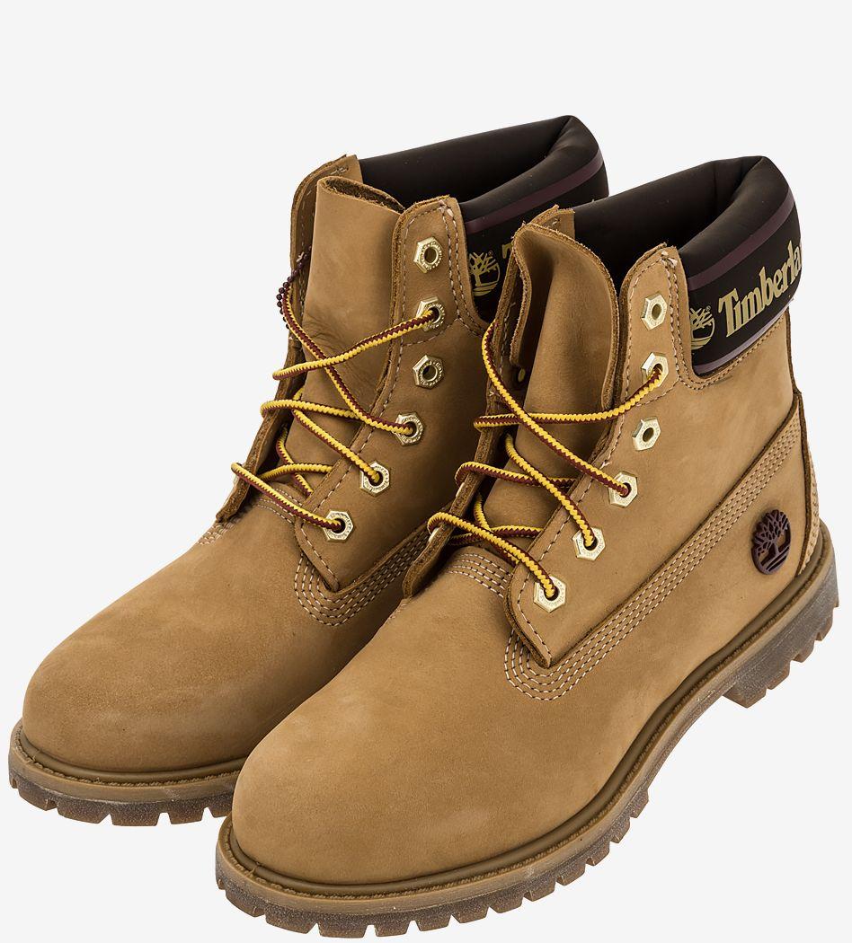 Ботинки женские Timberland желтые фото