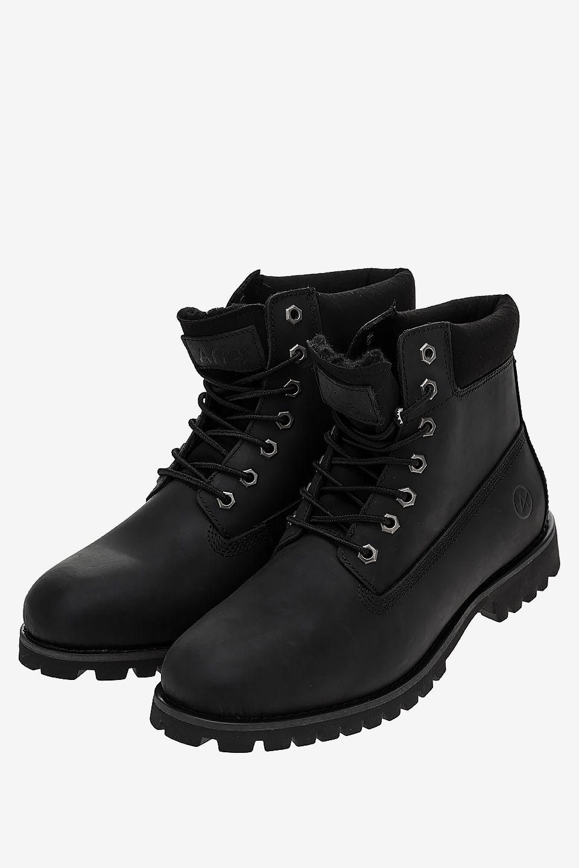Ботинки мужские черные AFFEX 116-NWK-BLK-M